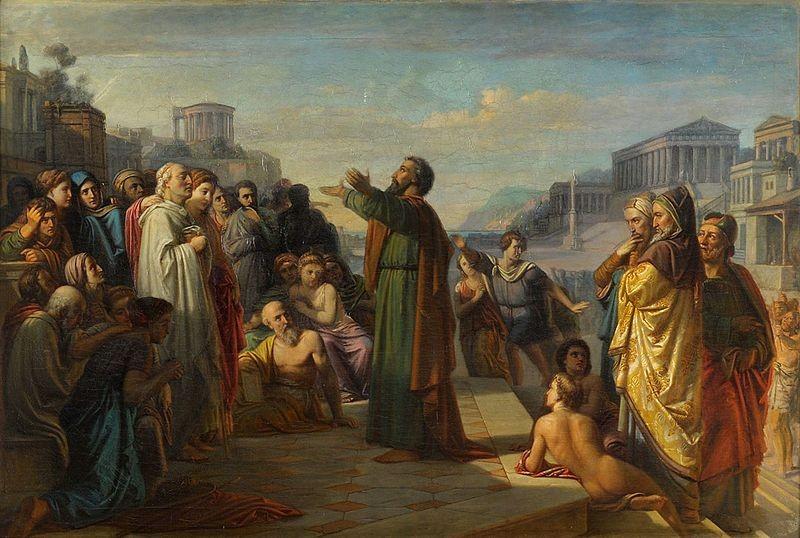 Paulus en zijn vreemde goden - AMEN